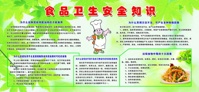 学校食品安全小常识图片